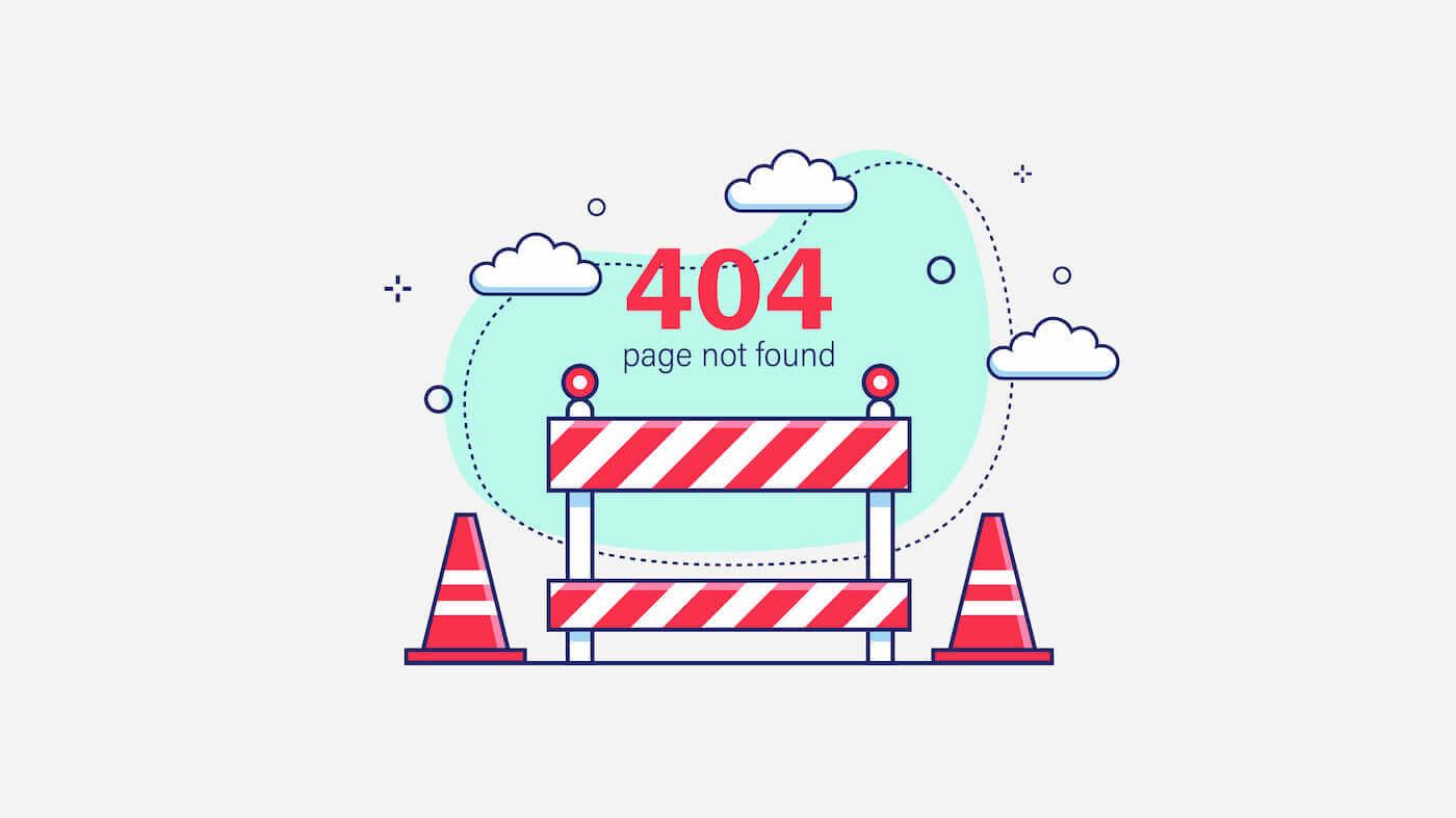 404 page not found fehlerseite