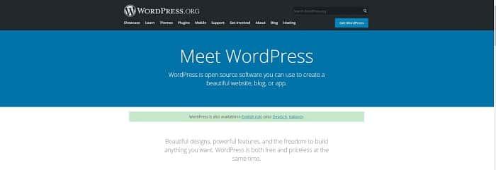 6. wordpress org cms