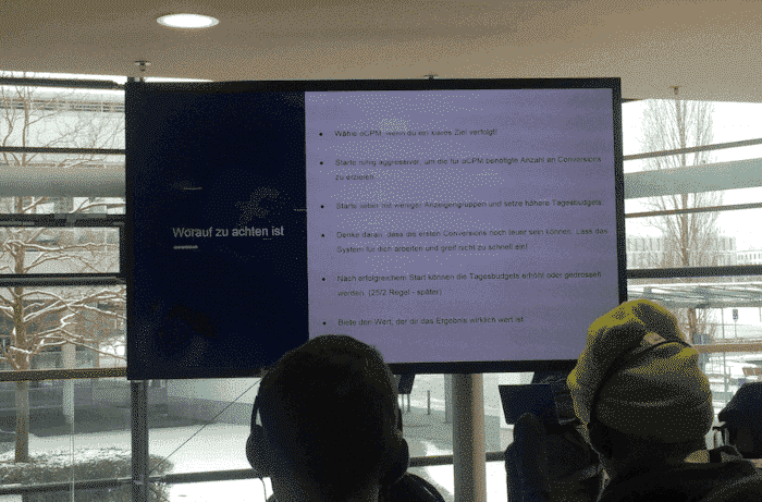 Deepdive Performance Marketing auf Facebook - Recap Allfacebook Marketing Conference