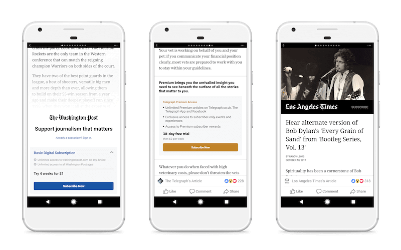 Abo Button in Facebook Instant Articles