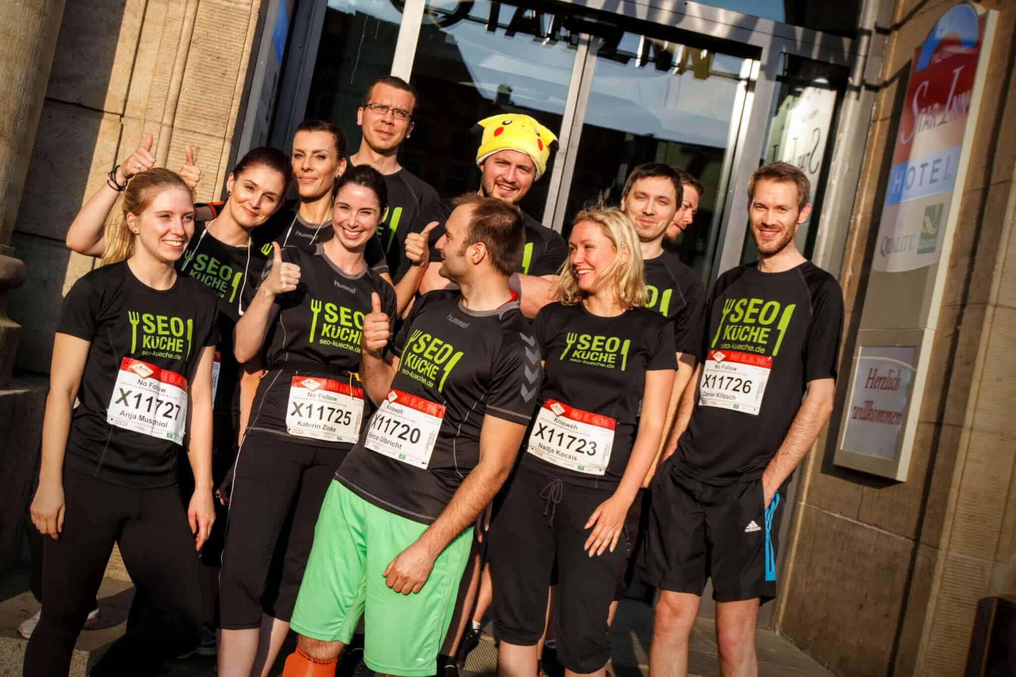Das Lauf Team der SEO-Küche