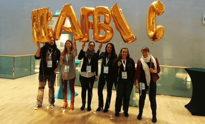 Unser Team auf der Allfacebook Marketing Conference