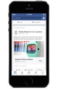Facebook testet neuen Kaufen-Button Foto: (c) Facebook