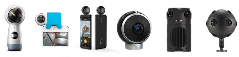 Facebook Live kompatible 360 Grad Kameras