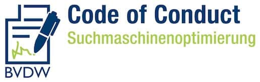 Code of Conduct Suchmaschinenoptimierung