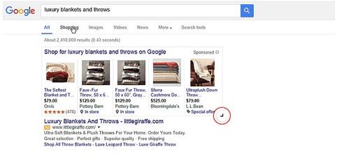 Expandable PLAs bei google