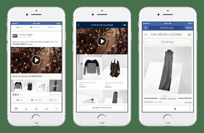 Neues Werbeformat auf Facebook: Collection