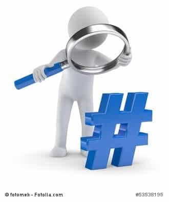 Hashtags haben Einfluss auf die google Suche