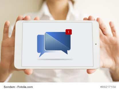 Neue Optionen bei Facebook Nachrichten