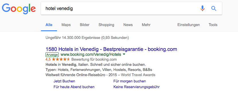 Google Ad-Label