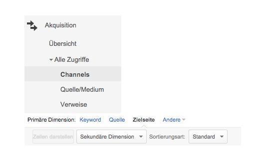 Google Analytics daten + export