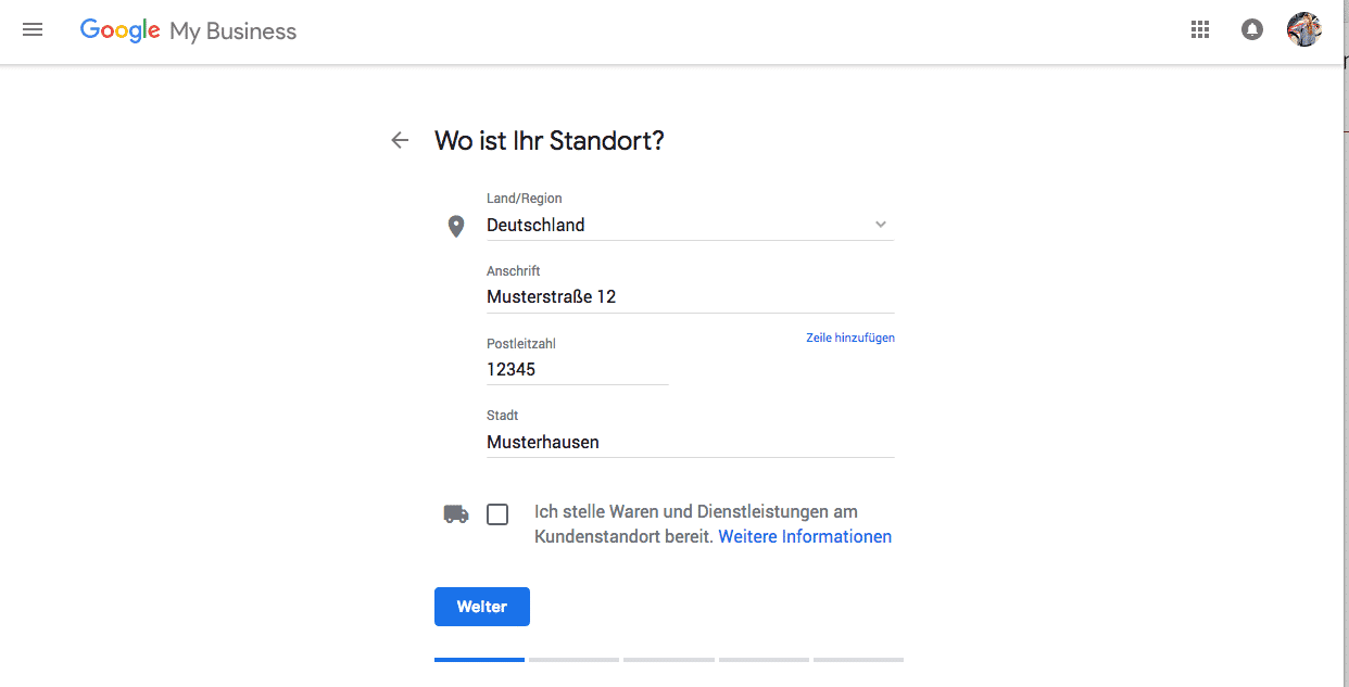 Google-MyBusiness-Standort