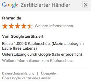 Google Zertifizierter Haendler