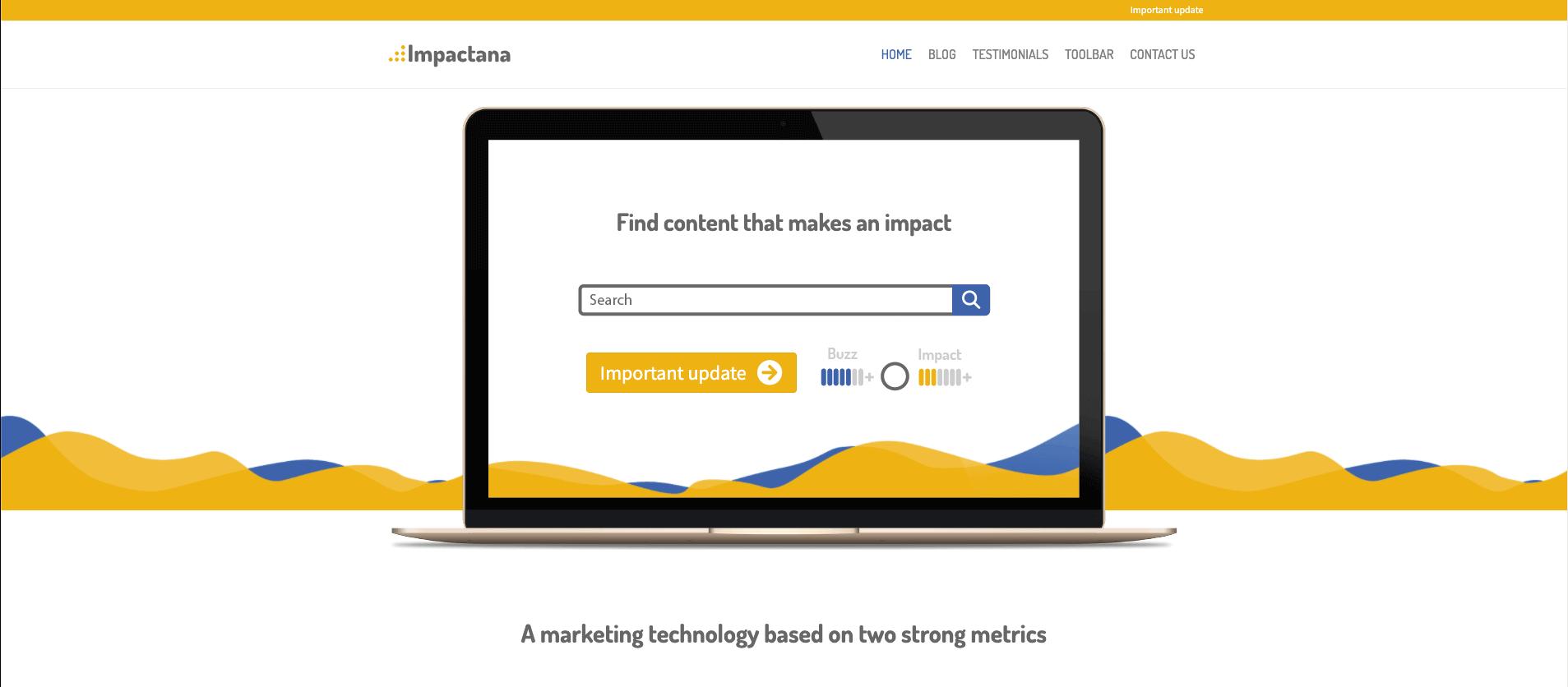 content marketing tools impactana