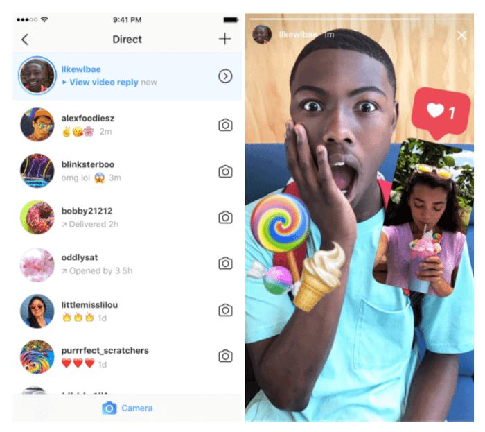 Neu auf Instagram: Foto und Videoantworten