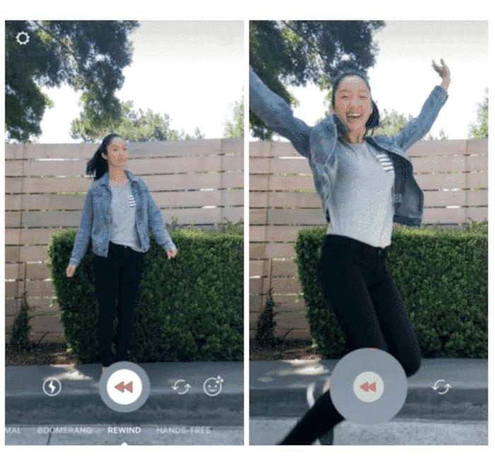 Neue Videofunktion auf Instagram: Rewind