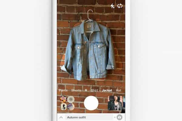 Pinterest Lens Your Look Funktion