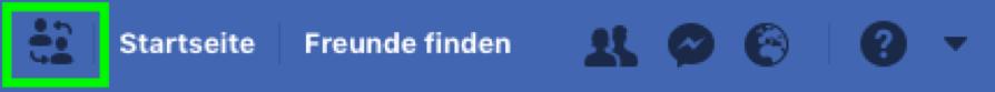 Facebook Profil Switch
