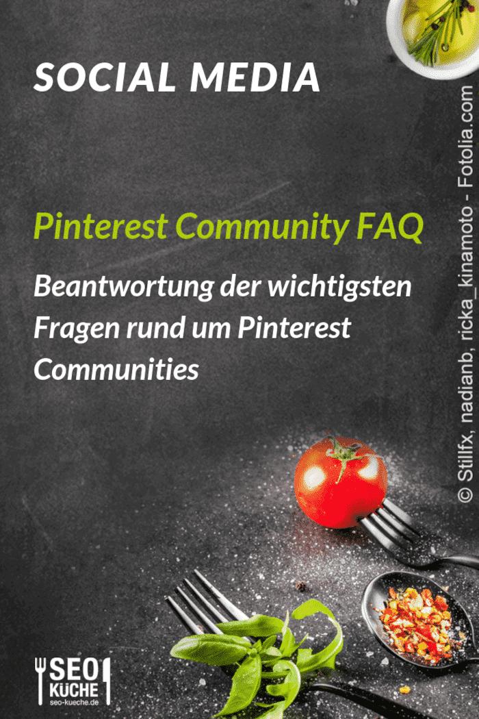 Pinterest Community FAQ