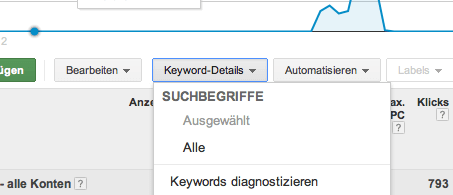 Adwords Tool Suchanfragen