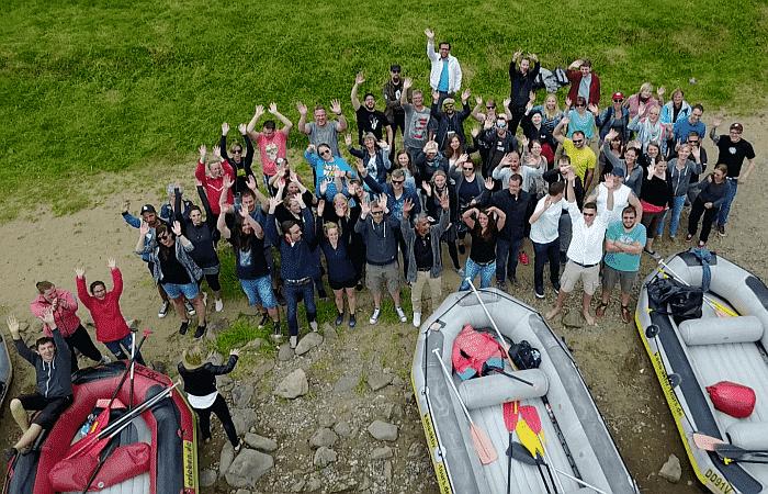 SEO Küche Teamevent 2017 Elbe