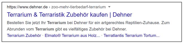 Title-Tag und Meta-Description