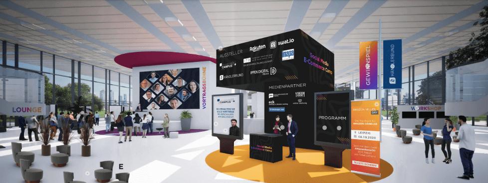 Virtuelles Foyer beim Social Media E-Commerce Camp