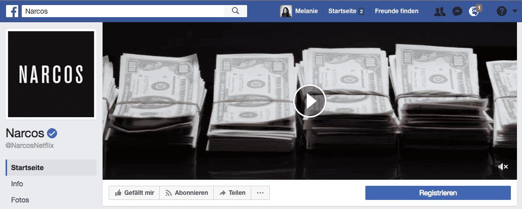 Video Titelbild für Unternehmensseiten auf facebook