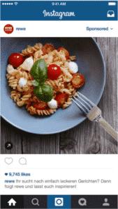 Anzeigen auf Instagram