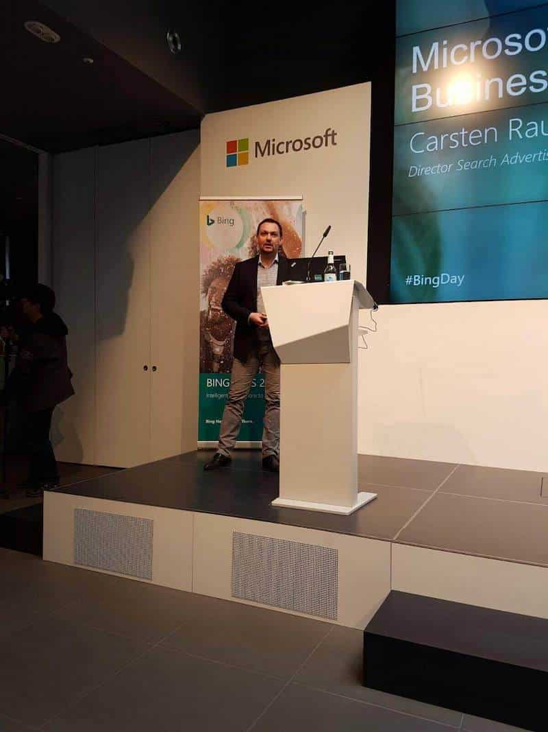 carsten rauh director search advertising germany eroeffnung des tages microsoft search business overview