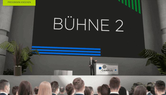 die digitale buehne beim google commerce camp 2020
