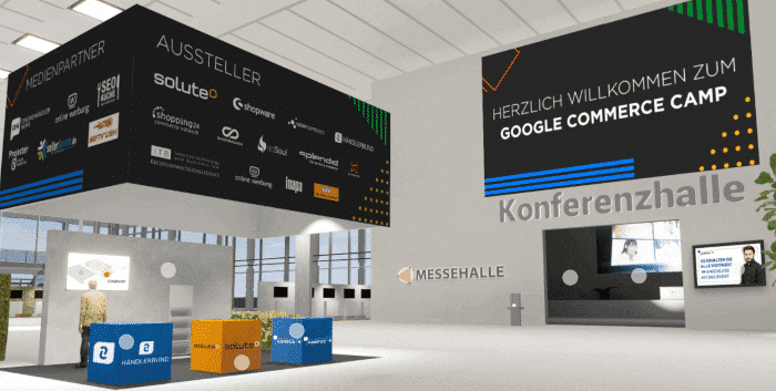 die Digitalkonferenz google commerce camp 2020