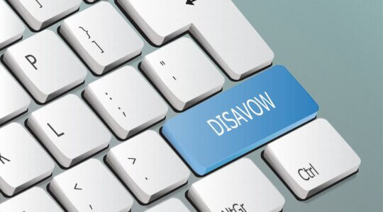disavow tool jetzt in google search console