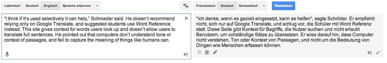 google translate I