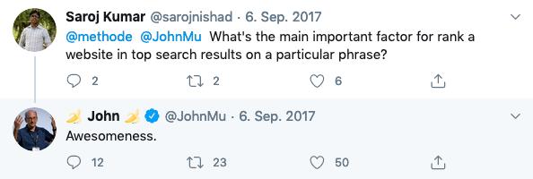 john mueller awesome