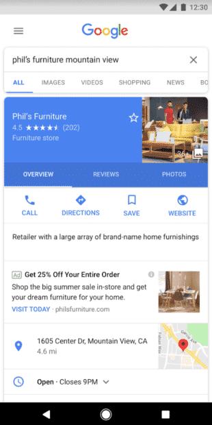 lokale kampagnen google ads suchnetzwerk1