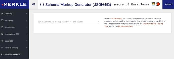 markup generator