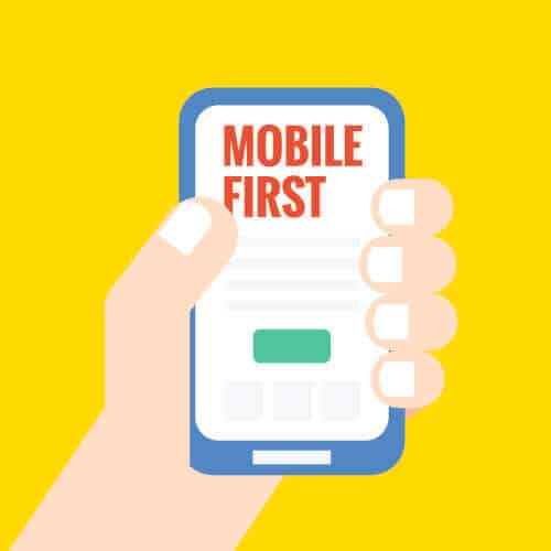 mobile first frage