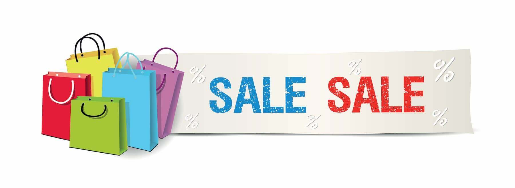 sale shopping aktionstage