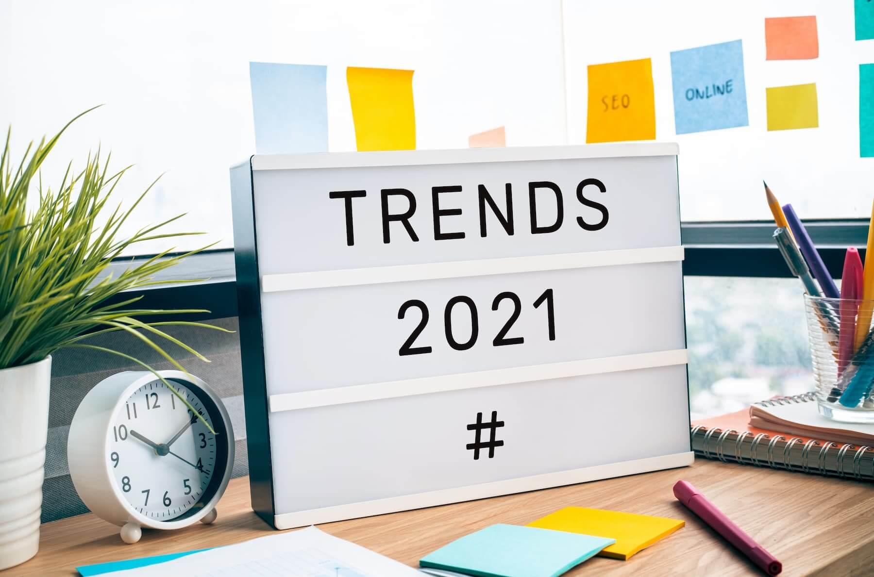 social media trends 2021 titelbild