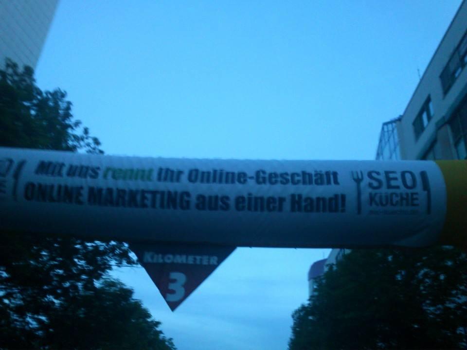 SEO-Küche als Sponsor der Team Challenge Dresden