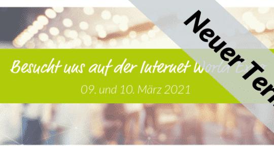termin internet world 2021