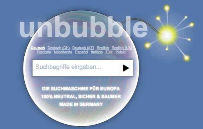 unbubble