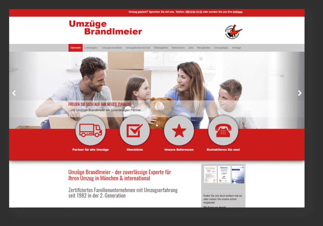 website umzuege brandlmeier