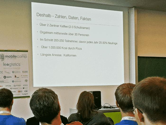 Das MobileCamp in Zahlen.